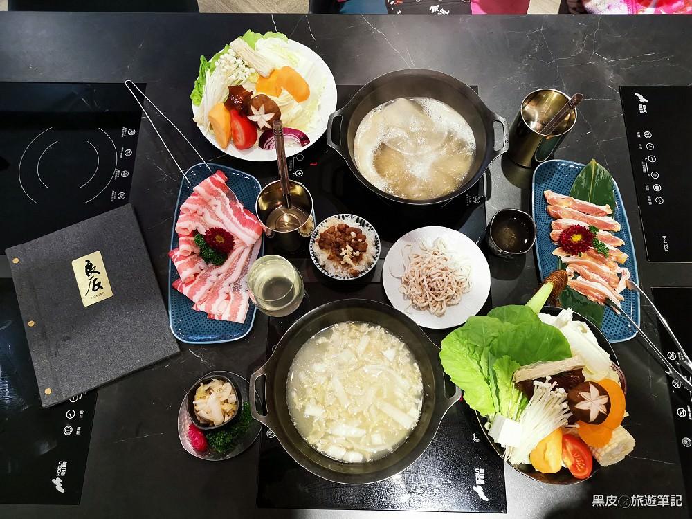 新竹美食。竹北餐廳│良辰採集鍋物,養身美食的好選擇