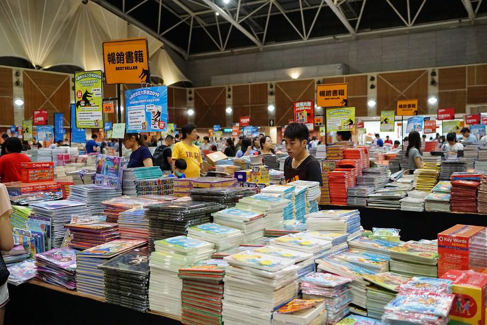 大野狼國際書展。限時書展最後倒數,快來幫小孩打造一個書中世界吧