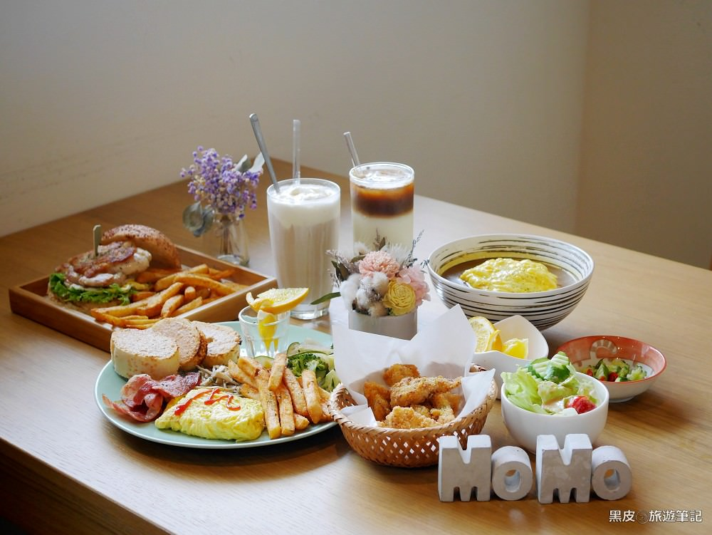 桃園美食。DeMo House 戴莫好食屋│桃園早午餐.寵物餐廳,三隻小貓陪你一起享用美食