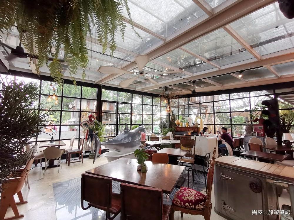 新北網美咖啡廳。Binma Area 134│淡水玻璃屋植物系下午茶推薦