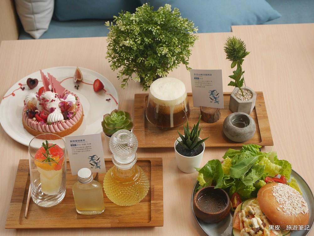 kafeD 德勒斯登河岸咖啡。台中網美餐廳,花式創意咖啡、年輪蛋糕,視覺上的極度饗宴