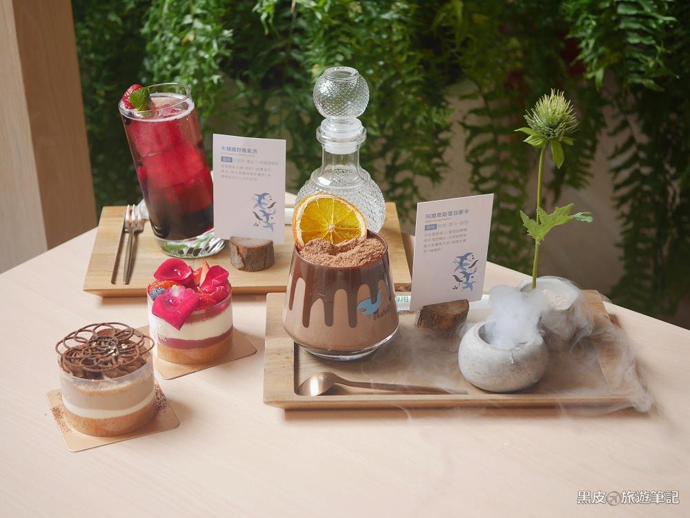 台中美食。kafeD 德勒斯登河岸咖啡│台中網美餐廳,花式創意咖啡、年輪蛋糕,視覺上的極度饗宴