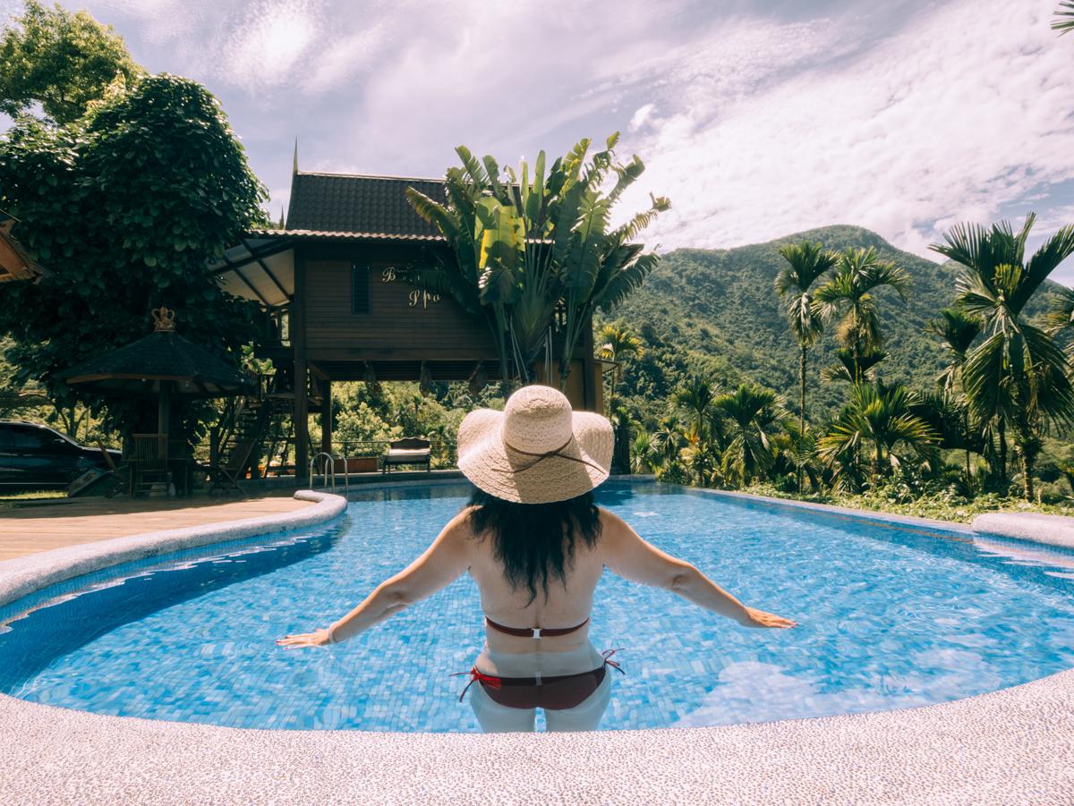 日月潭住宿-峇里峇里 | 南投VILLA | 日月潭住宿 |大自然無邊際泳池,峇里島渡假民宿