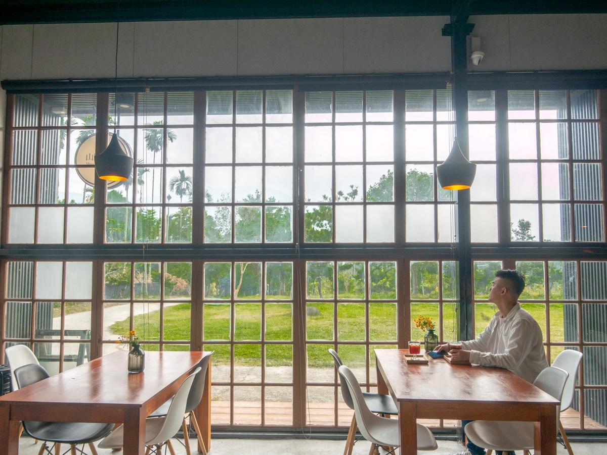 國姓景點『山間良物』。隱藏秘境中的咖啡招待所,聞著咖啡香眺望九九峰|南投咖啡廳推薦|南投景點