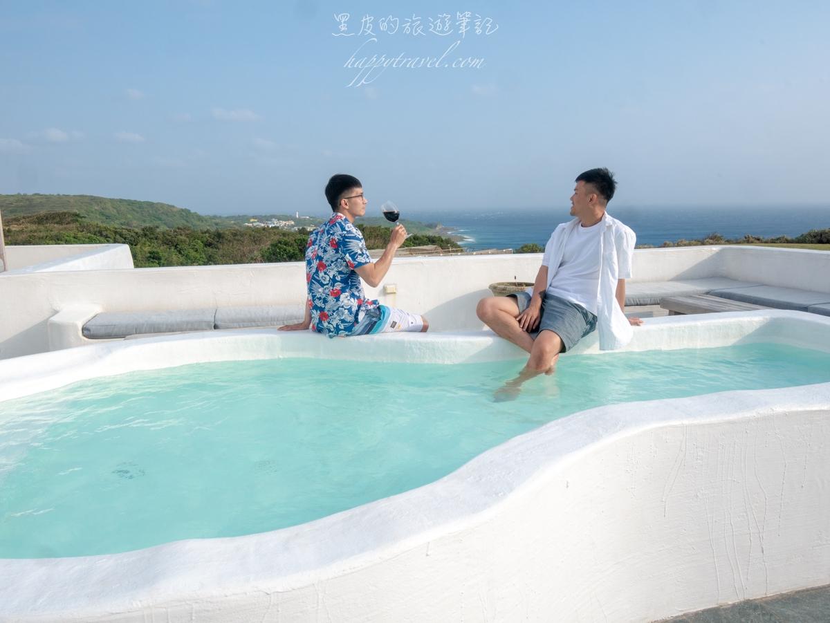 墾丁民宿。國境之南設計旅店|絕美海景漂浮早餐,異國浪漫希臘民宿