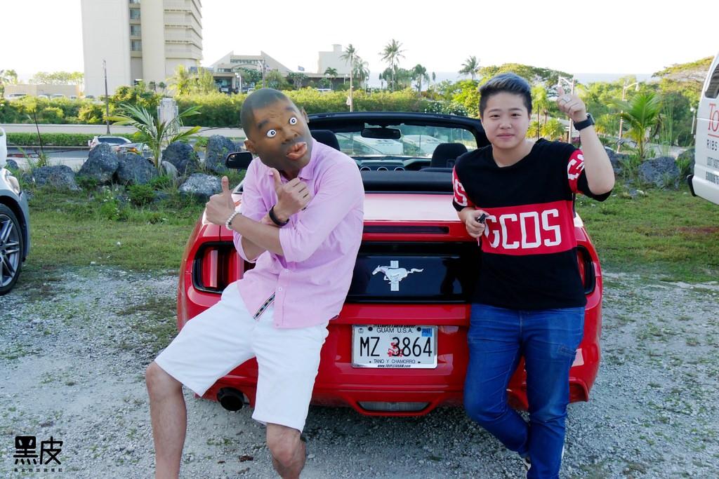 關島租車 奔馳跑車的快感 關島租車推薦  關島租車趴趴走 EZ Rent A Car Guam