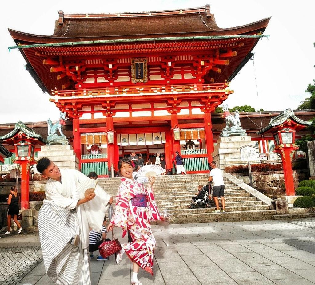 日本。京都│和服、浴衣出租推薦.京小町.地理位置方便.百種服飾選擇