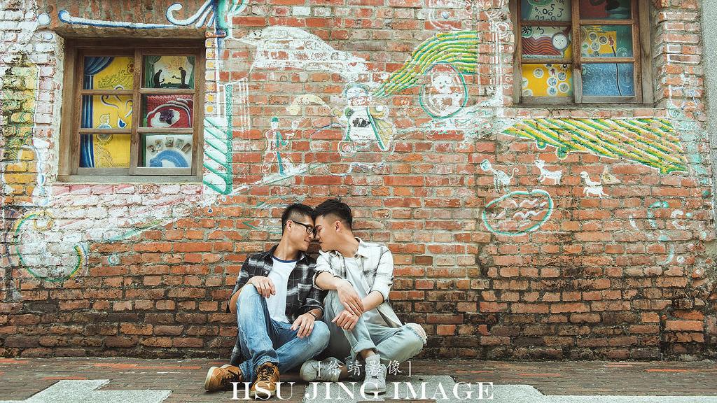 """同志攝影。徐靖影像│""""愛"""" 不在於性向.只在於能找到相伴一生的對象"""