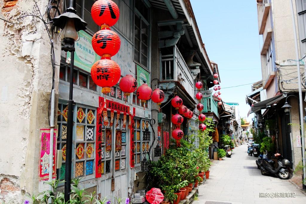 漫遊台南景點  神農街  輕旅行