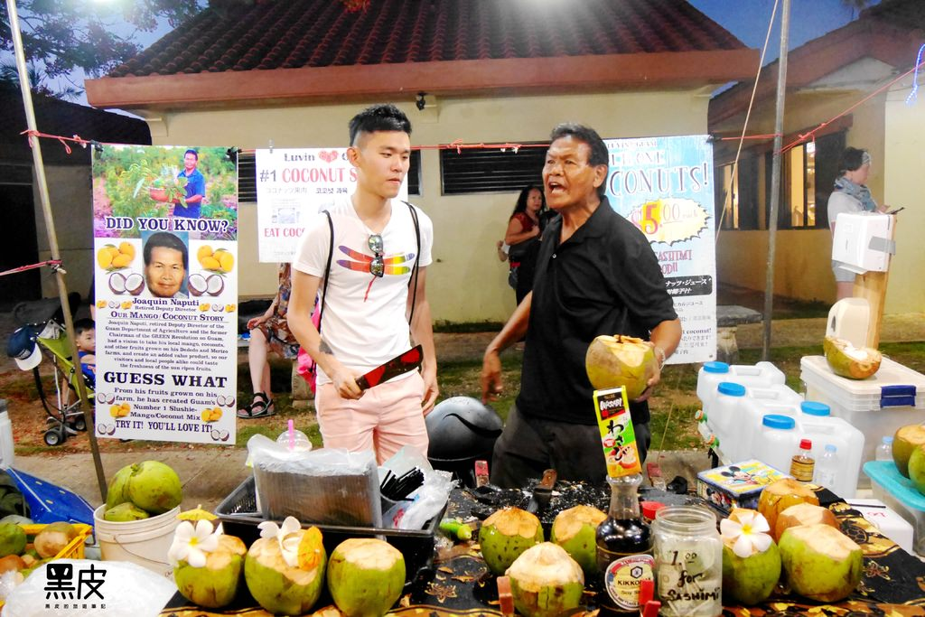 【美國關島※美食小吃】查莫洛夜市 體驗關島文化小吃 台灣美食無處不在