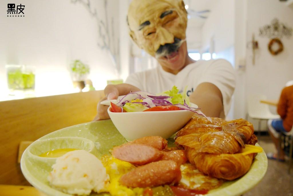 【嘉義※美食】深呼吸早午餐廚房。嘉義大學周邊必吃美食。經濟又實惠的早午餐推薦