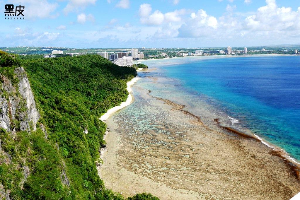 【關島必遊景點】戀人岬。別在說部落客介紹的景點都是雷。就真的很漂亮啊