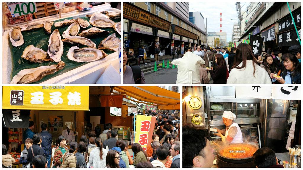 【日本※旅遊】築地市場  海產美食的好去處
