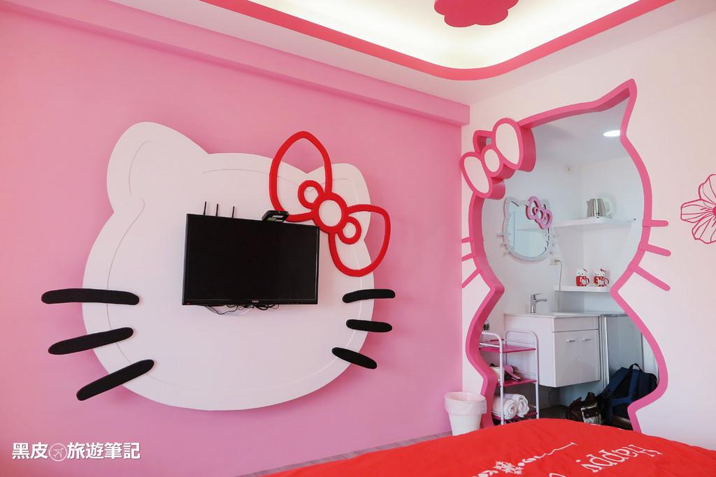 【台南※民宿】31夢想地  走進HELLO KITTY的粉色風暴