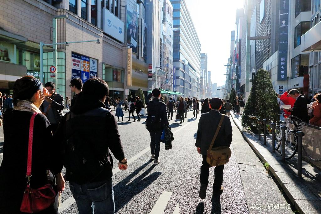 日本景點 銀座  步行者的天國  購物者的血拚天堂